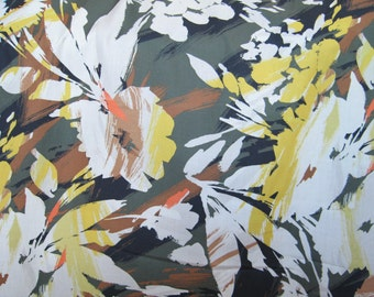 Cotton Shirting Print from France