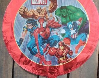 "18"" Marvel Super Heroes Mylar Foil Balloon - Avengers, Spiderman, Hulk, Superheroes"