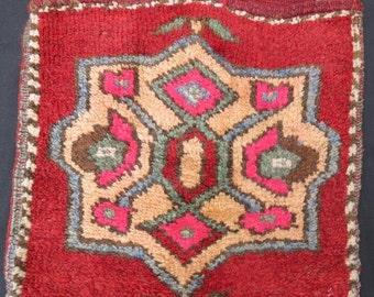 Anatolian Tribal Saddle Bag Pure Wool Natural Dyes 113 x 50 cm - 44' x 20'