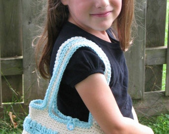 Girl's Ruffle Purse *Ready to Ship*