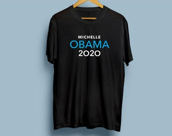 Michelle Obama 2020 for President T-shirt #Michelle2020