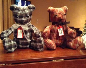 Memory pillows and bears