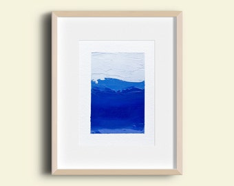 Abstract Landscape - Oil Painting 7801