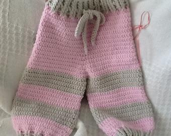 Crocheted Flower Pants