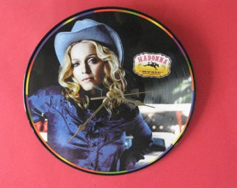 "Madonna Music  12""/lp  picture disc clock"