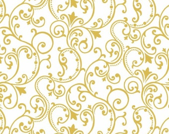 Studio E Pearle Gold Fabric