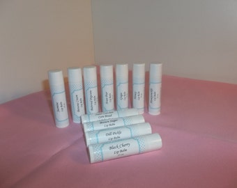 Lip Balms - 30 flavors to choose from