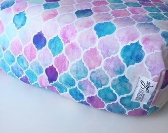 Moroccan | Standard Crib Sheet | Baby Girl Bedding | Moroccan Nursery