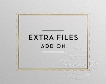Logo design additonal files, Premade logo addtional files