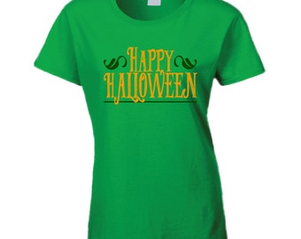 Happy Halloween Fun October Celebration T Shirt