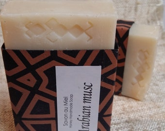 Moroccan SOAP with honey and musk 80gr
