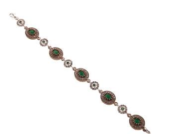 Authentic Ottoman style sterling silver bracelet ZB5018