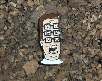 Shpongled Hank Hill Pin
