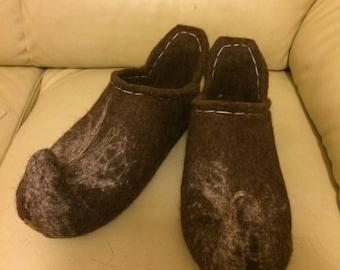 Men Wool slippers