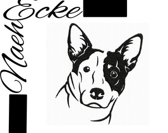 embroidery file for a Australian Cattle dog 1