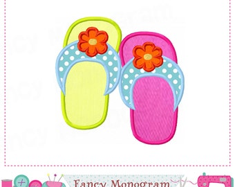 Flip Flop applique,Flip Flop design,Flip,Girl applique,Girl design,Flip Flop,Flip applique,Summer applique.