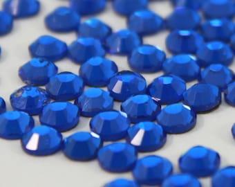 DMC Sapphire  Hotfix Rhinestones, wholesale pricing