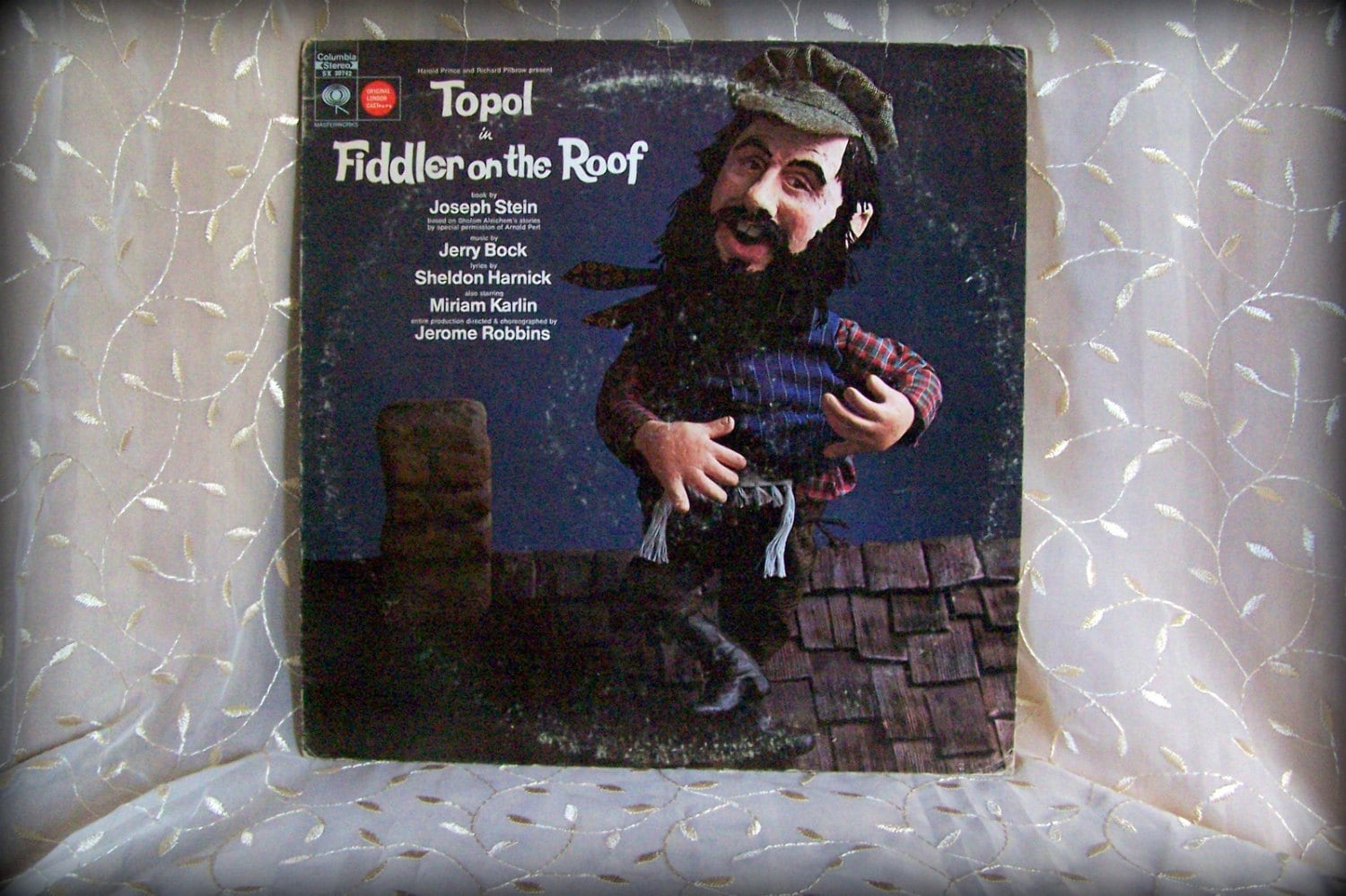 Topal In Fiddler On The Roof Musical Soundtrack Columbia