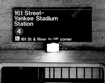 Black and White, New York City Photography, Yankee Stadium, Fine Art Photography, NYC Pictures, Bronx