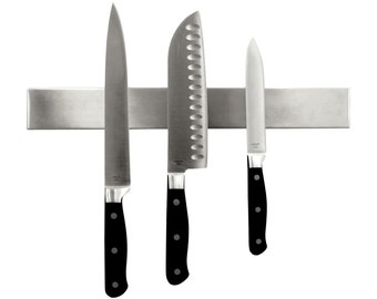Ultra-Modern Stainless Steel Professional Magnetic Knife/Tool Bar Holder (14 Inches)