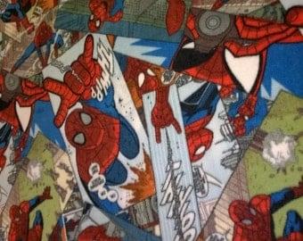 Amazing Spiderman No Sew Fleece Blanket