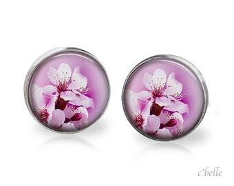 Earrings flowers - cherry blossom 7