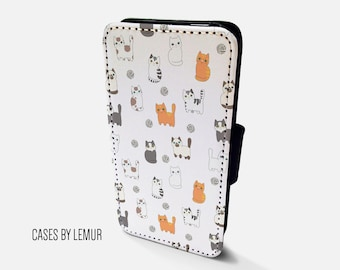 CATS Iphone 5 Wallet Case Leather Iphone 5 Case Leather Iphone 5 Flip Case Iphone 5 Leather Wallet Case Iphone 5 Leather Sleeve Cover