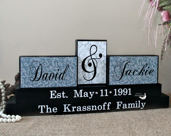 Wedding Gifts For Parents Canada : Custom Wedding Anniversary Gift for Parents by TimelessNotion