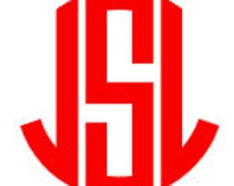 3 Inch Circle Monogram