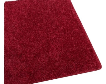 RUBY SLIPPER RED 30 oz. Polyester fiber, Medium Density, Soft and Durable. Multiple sizes, shapes and Brilliant Colors.