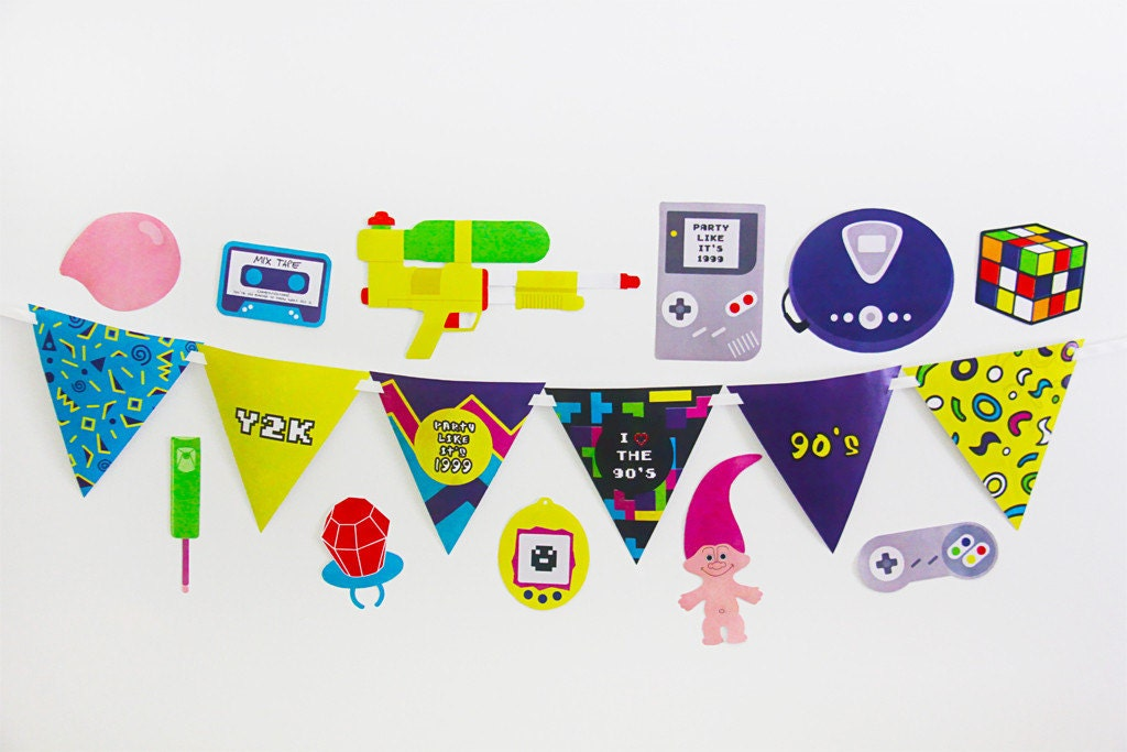 90s party decorations and 90s party photo booth by for 90 s party decoration ideas