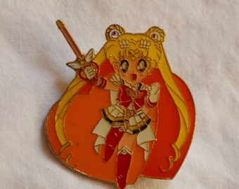Pretty Soldier Salormoon Official Kanebo Super Sailormoon Pin