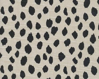 Dalmation Ink, Lacefield Fabrics, Fabric By The Yard