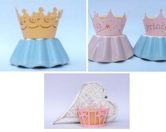 Cupcake Wraps. Ballet Dancer - 'Princess' - Ducks