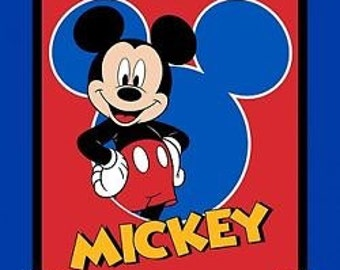 New Just Released Mickey Mouse Panel-Free Shipping