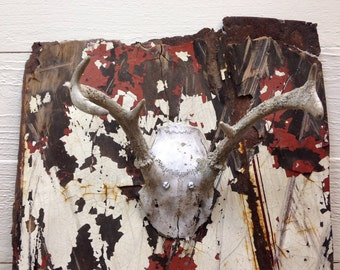 Rusty Antler Wall Hanging