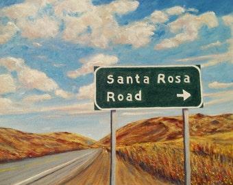 "Santa Rosa Road, California Highway 1, Buellton California ""Sideways Movie"""