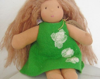 cloe purses - Items similar to Organic Waldorf Doll with Wish Bag, OOAK on Etsy