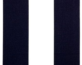 Premier Prints Vertical Blue/White Fabric REMNANT