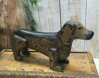 Dachshund Dog - Dachshund Gifts - Weiner Dog Decor - Wooden Dog Art - Dachshund Art, Dachshunds, Sausage Dog, Weiner Dog Art