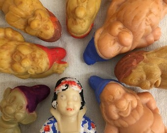 Vintage Snow White and the Seven Dwarves Soaps