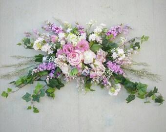 Wedding Arch Flowers, Wedding Arch Decor, Wedding Arch Swag, Wedding Arch Garland, Wedding Arch Flower Arrangement, Wedding Flowers