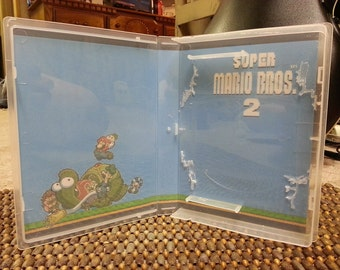 Custom Game Case/Box for Super Mario Brothers 1 2 & 3 Nintendo NES