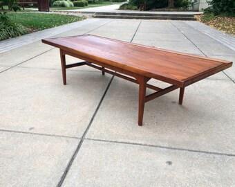 Drexel Declaration Coffee Table - Mid Century Walnut