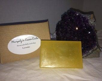 Organic Handmade Lavender Essential Oil Soap
