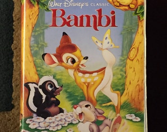 Walt Disney Classic Bambi VHS - Black Diamond Edition
