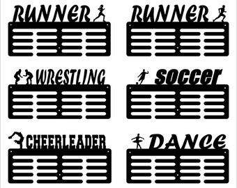 Medals Display Hangers Multiple Sports