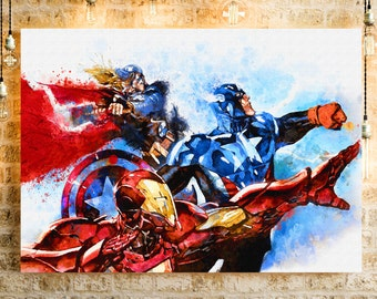 The Avengers. Captain America. Iron-man. Thor