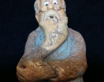 1940s Walt Disney Geppetto statue from vintage Pinocchio movie