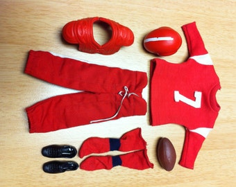 Ken Touchdown! #799 1963 Complete Outfit for Barbie's Ken by Mattel